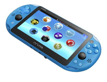 PlayStationVitaWi-Fiモデルアクア・ブルー[SCE]《09月予約》