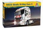 1/24 トラック&トレーラー イベコ STRALIS HI-WAY (排ガス規制ユーロ5対応型) プラモデル(再販)[イタレリ]《12月予約※暫定》