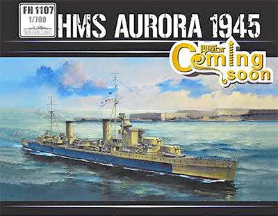 1/700 イギリス海軍アリシューザ級 軽巡洋艦オーロラ 1945年 プラモデル[フライホークモデル]《...