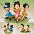 フィギュアーツZERO ルフィ・エース・サボ -義兄弟の約束- 『ワンピース』[バンダイ]《発売済・在庫品》