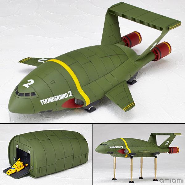 Revoltech 001 Thunderbird 2 Second Edition(Back-order)(リボルテック 001 サンダーバード2号 セカンドエディション)