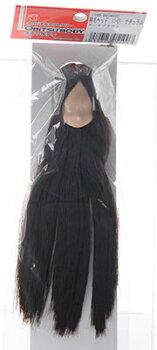 植毛ヘッド11-01ナチュラルダークブラウン(ドール用衣装)[オビツ製作所]《取り寄せ※暫定》