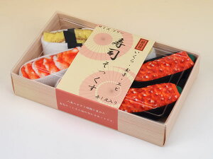 寿司ソックス 3足セット フリーサイズ(22-27cm)[助野]《取り寄せ※暫定》