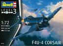 1/72 F4U-4 コルセア プラモデル[ドイツレベル]《取り寄せ※暫定》