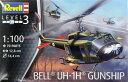 1/100 ベル UH-1H ガンシップ プラモデル[ドイツレベル]《取り寄せ※暫定》