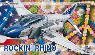 リミテッド・エディション 1/48 Rockn´ Rhino (ロッキンライノー) F4Jファントム プラモデル(Limited Edition 1/48 Rockn' Rhino F4J Phantom Plastic Model(Back-order))