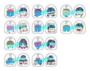 トイズワークスコレクションにいてんごむっ!くりっぷ おそ松さん 10個入りBOX[キャラアニ]《05月予約》