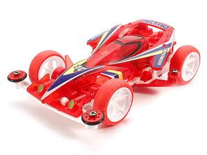 スーパーミニ四駆シリーズ特別仕様モデル アストロブーメラン クリヤーレッドスペシ…
