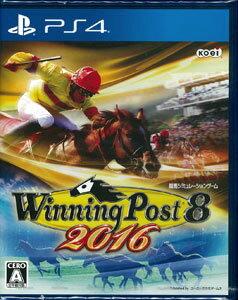PS4 Winning Post 8 2016[コーエーテクモゲームス]《在庫切れ》