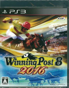PS3 Winning Post 8 2016[コーエーテクモゲームス]《在庫切れ》