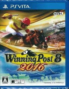 PS Vita Winning Post 8 2016[コーエーテクモゲームス]《在庫切れ》