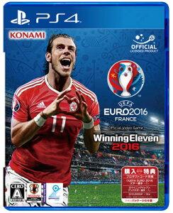 【特典】PS4 UEFA EURO 2016/ ウイニングイレブン2016[コナミ]《在庫切れ…