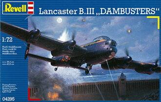 """1/72 ランカスター """"ダムバスター"""" プラモデル(1/72 Lancaster B.III """"Dambusters"""" Plastic Model(Back-order))"""