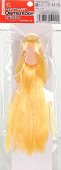 植毛ヘッド11-01ナチュラルブロンド(ドール用衣装)[オビツ製作所]《取り寄せ※暫定》