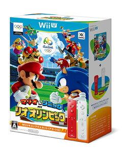 Wii U マリオ&ソニック AT リオオリンピック TM Wiiリモコンプラスセット(アカ・…