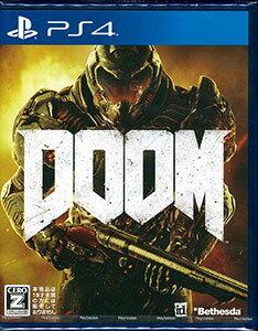 PS4 DOOM(ドゥーム)[ベセスダ・ソフトワークス]《発売済・在庫品》