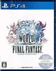 【特典】PS4 ワールド オブ ファイナルファンタジー[スクウェア・エニックス]《10月予約》