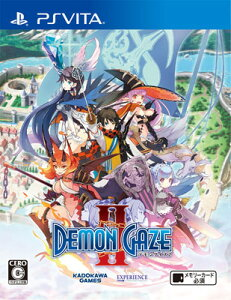 【特典】PS Vita デモンゲイズ2[角川ゲームス]《09月予約》