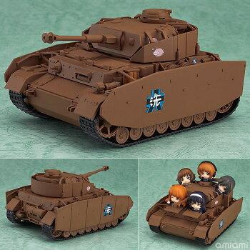 ねんどろいどもあガールズ&パンツァーIV号戦車D型改(H型仕様)[グッドスマイルカンパニー]《10月予約》