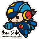 CAPCOM×B-SIDE LABELステッカー ロックマン エグゼ ロックマン[B-SIDE LABEL]《取り寄せ※暫定》