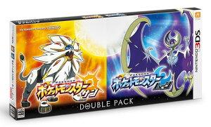 【特典】3DS 『ポケットモンスター サン・ムーン』 ダブルパック[任天堂]【送料無料】《11…