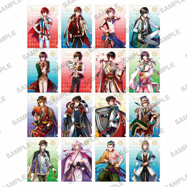 夢王国と眠れる100人の王子様 ぷちクリアファイルコレクション 8個入りBOX[KADOKAWA]【送料無料】《発売済・在庫品》