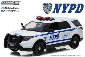 1/18 2015 Ford Police Interceptor Utility New York City Police Department (NYPD)(1/18 2015 Ford Police Interceptor Utility New York City Police Department (NYPD)(Back-order))