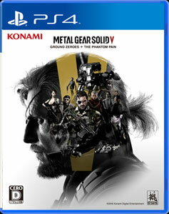 PS4 METAL GEAR SOLID V: GROUND ZEROES + THE PHA…