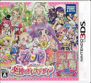 【特典】3DS プリパラ めざめよ!女神のドレスデザイン 通常版[タカラトミーアーツ]【送料無…