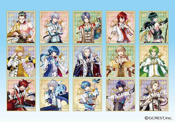 夢王国と眠れる100人の王子様 ビジュアル色紙コレクション SUN 通常版 15個入りBOX[エンスカイ]《発売済・在庫品》