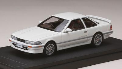 1/43 トヨタソアラ2.0GT-Twin Turbo (GZ20) 1986 スポーツホイール スーパーホワイトII[MARK43]《発売済・在庫品》