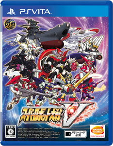 【特典】PS Vita スーパーロボット大戦V 通常版[バンダイナムコ]《02月予約》