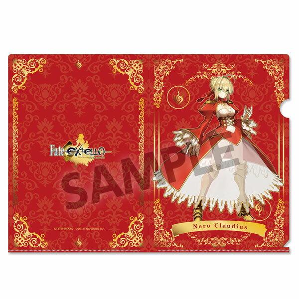 Fate/EXTELLA クリアファイル ネロ・クラウディウス[ホビーストック]《発売済・在庫品》