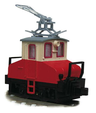 14042 銚子電気鉄道 デキ3 電気機関車(ビューゲル仕様/車体色:赤電色 /動力付)[津川洋行]《取り寄せ※暫定》