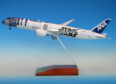1/200 787-9 JA873A R2-D2 ANA JET スナップフィット(Wifi レドーム・ギアつき) 宮沢模型流通限定[全日空商事]《取り寄せ※暫定》