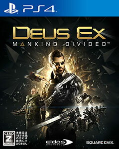 PS4 Deus Ex: Mankind Divided[スクウェア・エニックス]《03月予約…