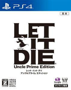 PS4 LET IT DIE アンクルプライム エディション[ガンホー]《03月予約》