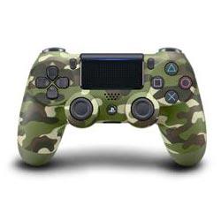 PS4用 ワイヤレスコントローラー(DUALSHOCK4) グリーン・カモフラージュ[SIE]…
