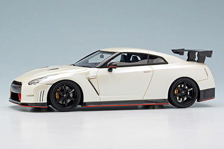 1/43 NISSAN GT-R NISMO N Attack Package 2014 ブリリアントホワイトパール[メイクアップ]【送料無料】《取り寄せ※暫定》
