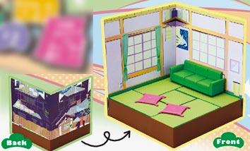 プチポーズ おそ松さん 6つ子の部屋[リーメント]【送料無料】《発売済・在庫品》