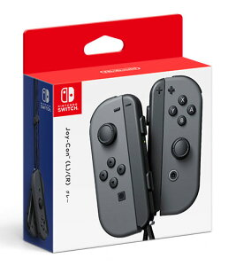 Nintendo Switch Joy-Con(L)/(R) グレー[任天堂]《03月予約》