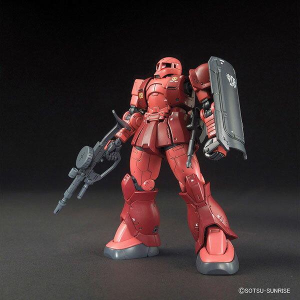 HG 機動戦士ガンダム THE ORIGIN 1/144 ザクI(シャア・アズナブル機) プラモデル[バンダイ]《発売済・在庫品》