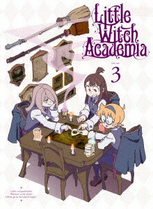 "DVD TVアニメ「リトルウィッチアカデミア」Vol.3 DVD 初回生産限定版(DVD TV Anime ""Little Witch Academia"" Vol.3 DVD Initial Production Limited Edition(Pre-order))"