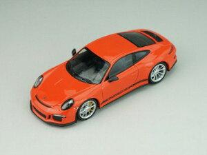 1/43 ポルシェ 911R 2016 Lava Orange Black Side Decal,Black Writing,Metl Grey Wheels,Carbon Mirrors[ALMST REAL]《取り寄せ※暫定》