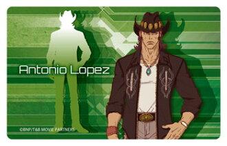 劇場版 TIGER & BUNNY -The Rising- プレートバッジ アントニオ・ロペス(Movie Tiger & Bunny: The Rising - Plate Badge: Antonio Lopez(Pre-order))