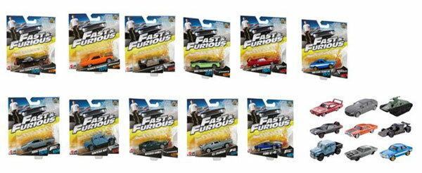 ワイルド・スピード ダイキャストカーシングルパック 16個入りアソート[マテル]《発売済・在庫品》