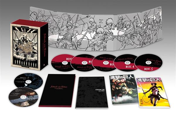 DVD TVアニメ「進撃の巨人」Season1 DVD BOX[ポニーキャニオン]【送料無料】《取り寄せ※暫定》