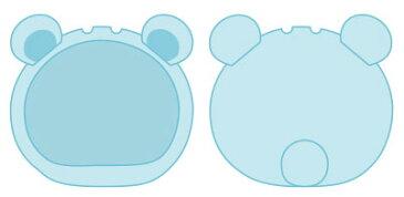 おまんじゅうにぎにぎマスコット きぐるみケース くま ブルー ふつうサイズ用(再販)[エンスカイ]《発売済・在庫品》