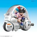 【特典】メカコレクション ドラゴンボール 1巻 ブルマのカプセルNO.9バイク プラモデル[バンダイ]《発売済・在庫品》