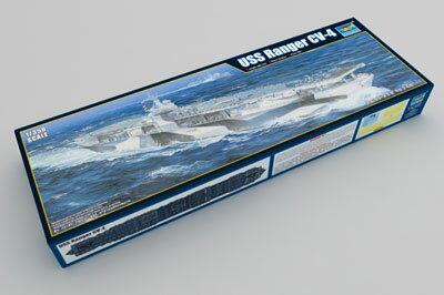 1/350 アメリカ海軍 航空母艦 CV-4 レンジャー プラモデル[トランペッターモデル]《在庫切れ》